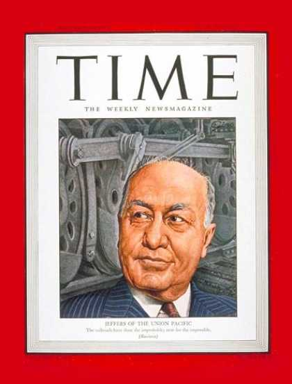 Time - William Jeffers - July 30, 1945 - Railroads - Business