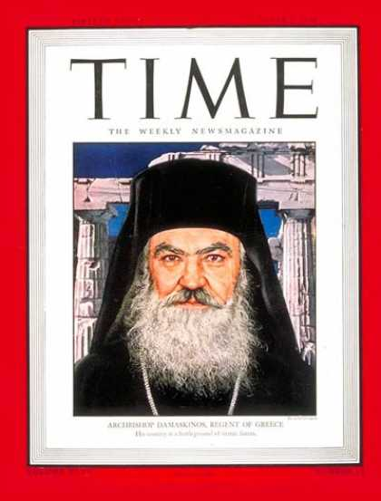 Time - Oct. 1, 1945 - Religion