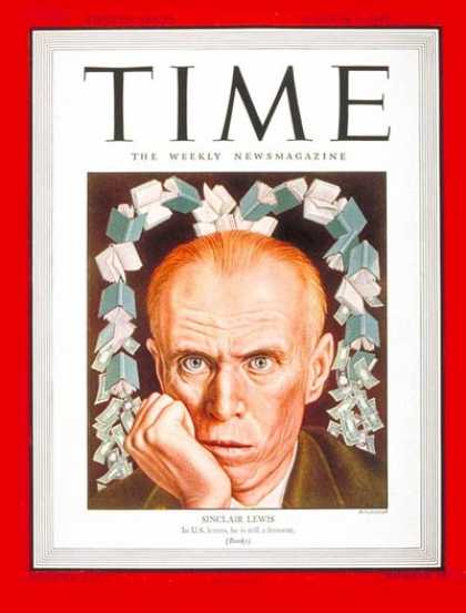 Time - Sinclair Lewis - Oct. 8, 1945 - Books