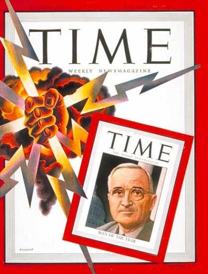 Time - Harry S. Truman, Man of the Year - Dec. 31, 1945 - Harry S. Truman - Person of t