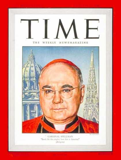 Time - Cardinal Spellman - Feb. 25, 1946 - Religion - Catholicism