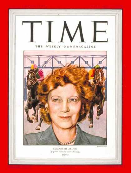 Time - Elizabeth Arden - May 6, 1946 - Beauty Products - Business