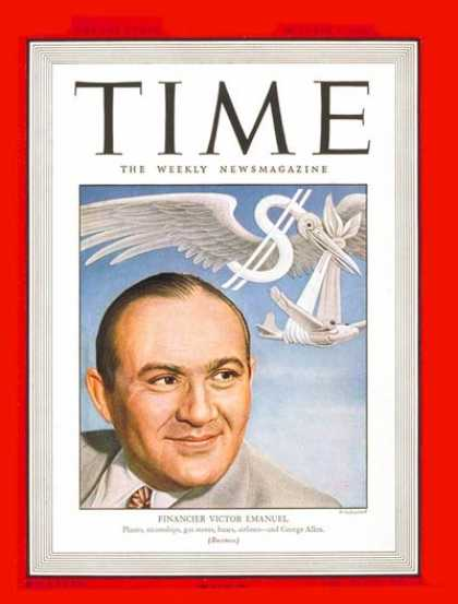 Time - Victor Emanuel - Oct. 7, 1946 - Aviation - Business