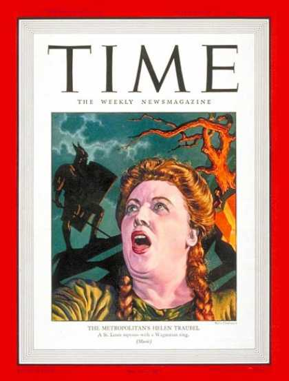 Time - Helen Traubel - Nov. 11, 1946 - Opera - Singers - Music