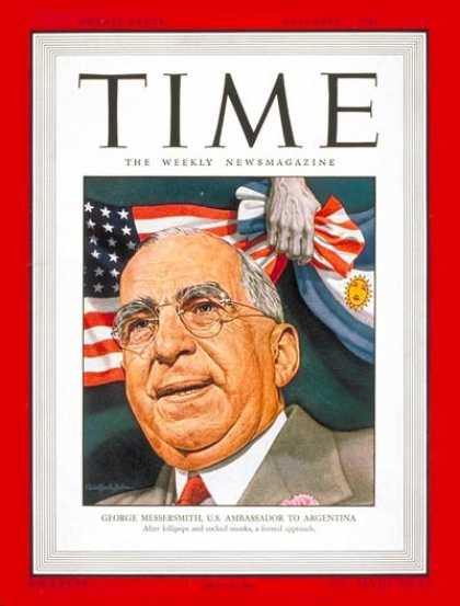 Time - George Messersmith - Dec. 2, 1946 - Politics