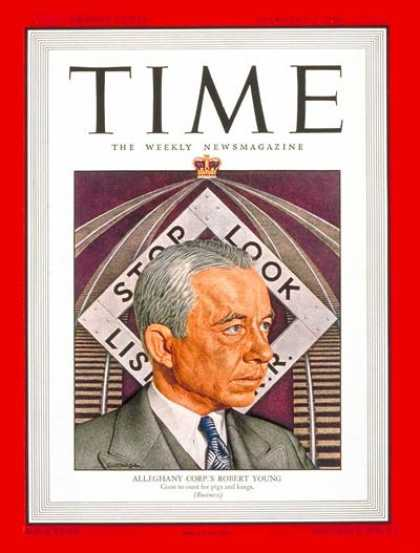 Time - Robert Young - Feb. 3, 1947 - Railroads - Business