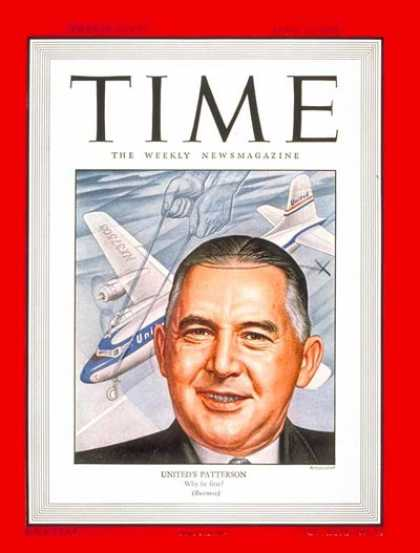 Time - William A. Patterson - Apr. 21, 1947 - Aviation - Business