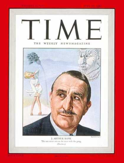 Time - J. Arthur Rank - May 19, 1947 - Great Britain - Movies