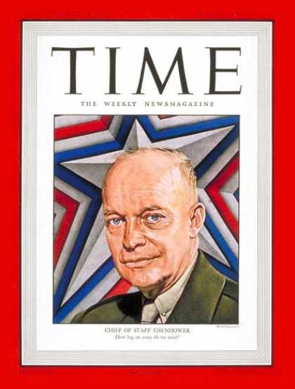 Time - General Dwight Eisenhower - June 23, 1947 - Dwight Eisenhower - Army - Generals
