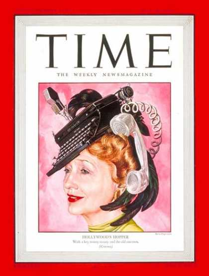 Time - Hedda Hopper - July 28, 1947 - Gossip