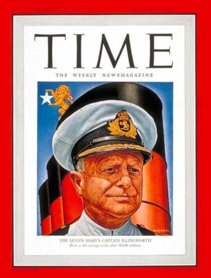 Time - Captain Illingworth - Aug. 11, 1947 - Ships - Transportation