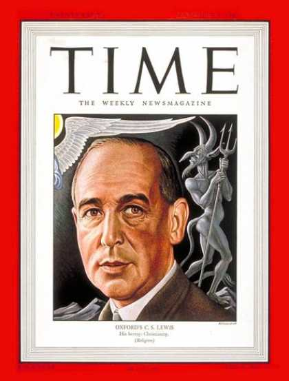 Time - C.S. Lewis - Sep. 8, 1947 - Books