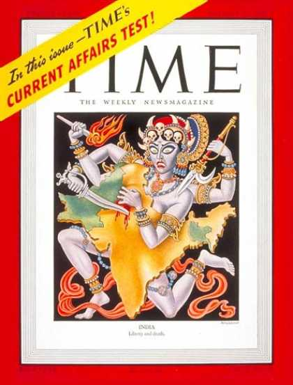 Time - India - Oct. 27, 1947 - Pakistan