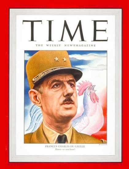 Time - Charles DeGaulle - Nov. 17, 1947 - France