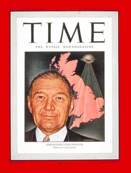 Time - Lewis Douglas - Dec. 1, 1947 - Great Britain - Diplomacy