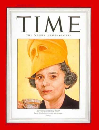 Time - Rebecca West - Dec. 8, 1947 - Journalism - Books