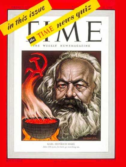 Time - Karl Marx - Feb. 23, 1948 - Russia - Marxism
