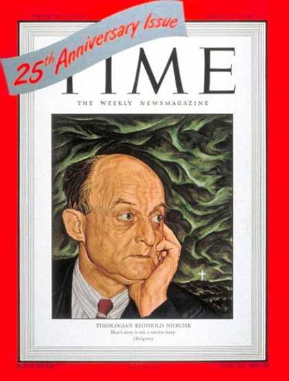 Time - Reinhold Niebuhr - Mar. 8, 1948 - Religion - Books