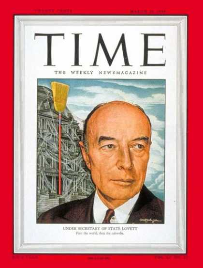 Time - Robert A. Lovett - Mar. 29, 1948 - Politics