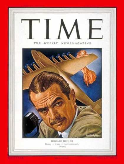 Time - Howard Hughes - July 19, 1948 - Aviation - Movies