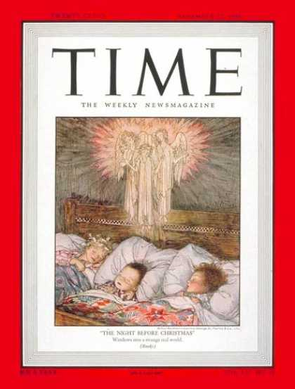 Time - Christmas Eve - Dec. 27, 1948 - Religion - Holidays - Christmas - Most Popular