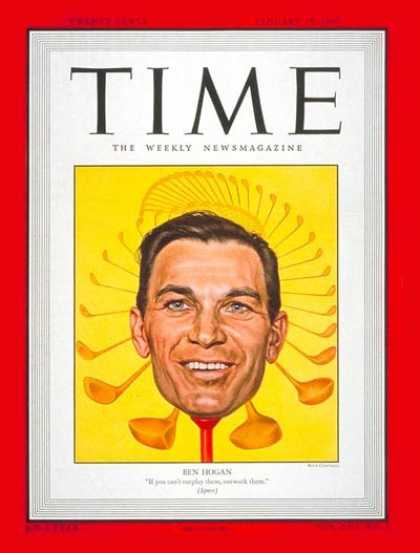 Time - Ben Hogan - Jan. 10, 1949 - Golf - Sports