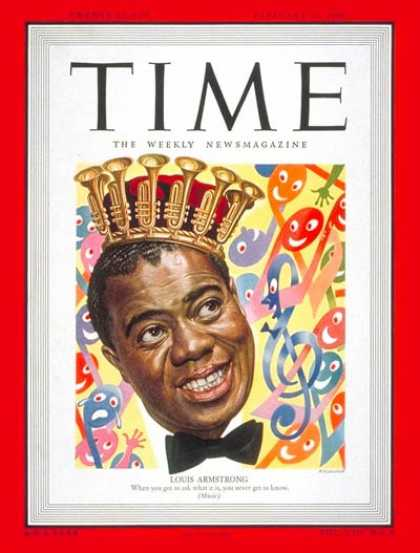 Time - Louis Armstrong - Feb. 21, 1949 - Singers - Jazz - Most Popular - Music