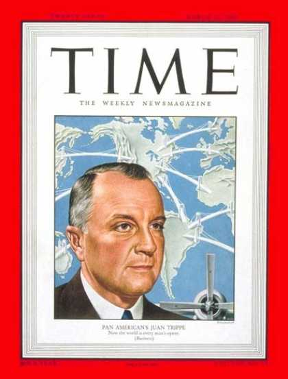 Time - Juan Trippe - Mar. 28, 1949 - Aviation - Business