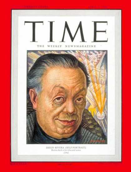 Time - Diego Rivera - Apr. 4, 1949 - Mexico - Art - Latin America