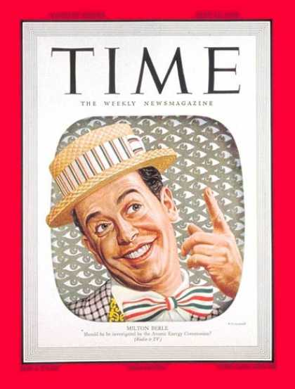 Time - Milton Berle - May 16, 1949 - Television - Comedy