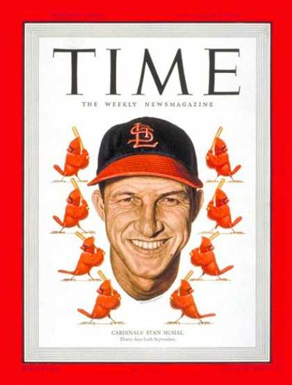 Time - Stan Musial - Sep. 5, 1949 - Baseball - St. Louis - Sports