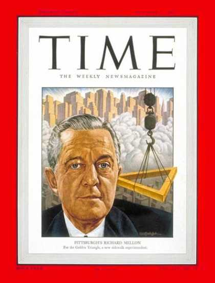 Time - Richard K. Mellon - Oct. 3, 1949 - Finance - Business