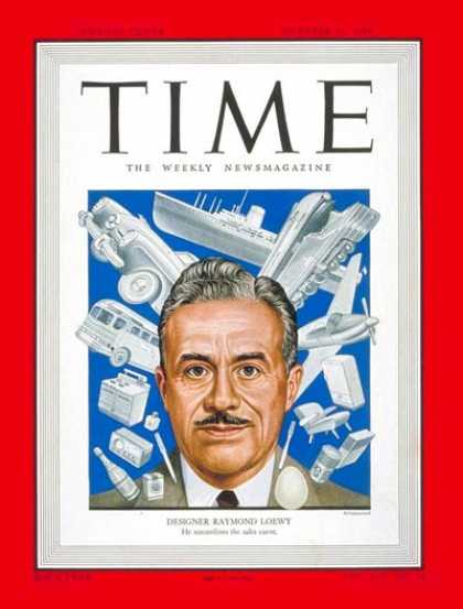 Time - Raymond Loewy - Oct. 31, 1949 - Design - Cars - Automotive Industry