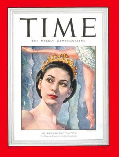 Time - Margot Fonteyn - Nov. 14, 1949 - Dance - Ballet