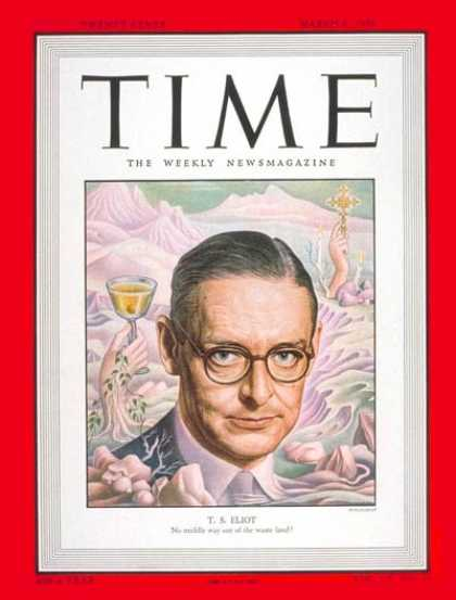 Time - T.S. Eliot - Mar. 6, 1950 - Books - Poets