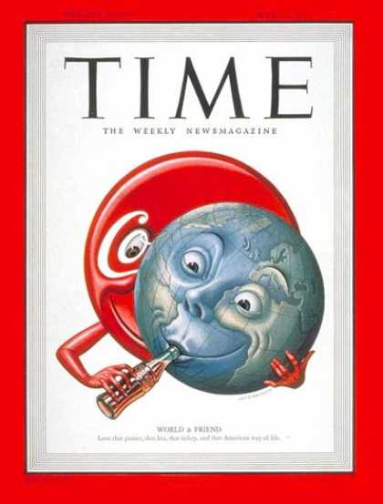 Time - Coca-Cola - May 15, 1950 - Globalization - Trade - Business