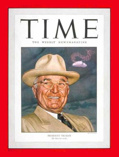 Time - Harry S. Truman - May 22, 1950 - U.S. Presidents - Politics