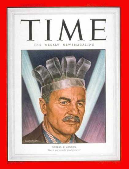 Time - Darryl F. Zanuck - June 12, 1950 - Producers - Movies