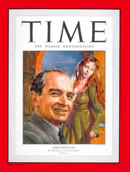 Time - Christopher Fry - Nov. 20, 1950 - Theater - Poets
