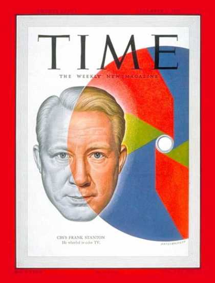 Time - Frank Stanton - Dec. 4, 1950 - Television - CBS - Broadcasting