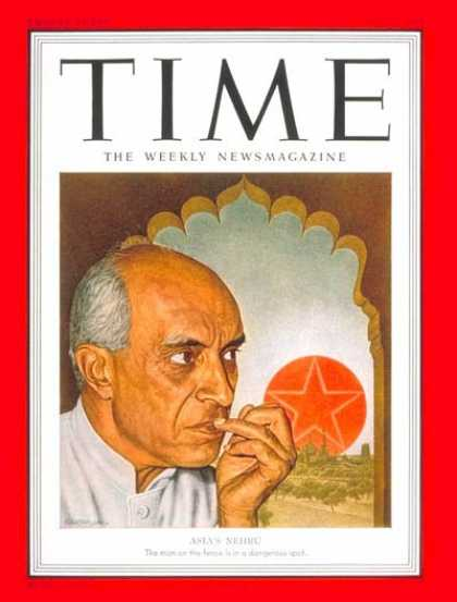 Time - Jawaharlal Nehru - May 7, 1951 - India - Prime Ministers
