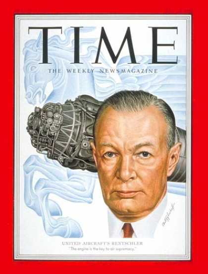 Time - Frederick Rentschler - May 28, 1951 - Aviation - Business
