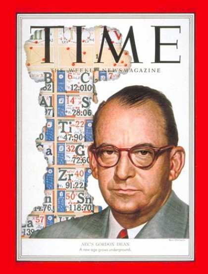 Time - Gordon Dean - Jan. 14, 1952 - Nuclear Weapons - Cold War - Weapons