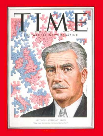 Time - Anthony Eden - Feb. 11, 1952 - Great Britain - Prime Ministers