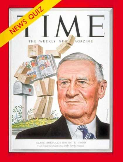 Time - Robert E. Wood - Feb. 25, 1952 - Korean War - Business - Military
