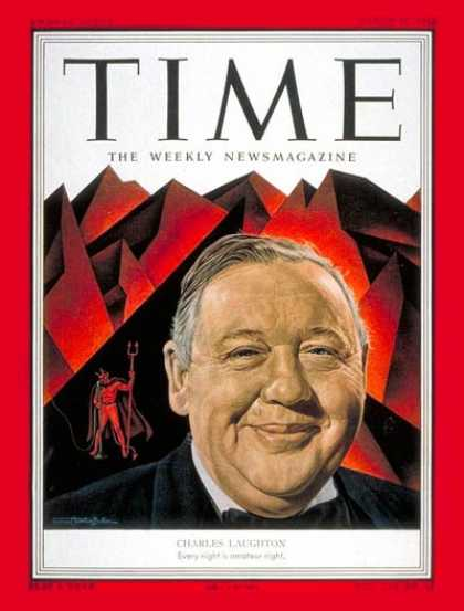 Time - Charles Laughton - Mar. 31, 1952 - Movies - Actors