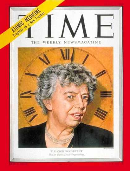 Time - Eleanor Roosevelt - Apr. 7, 1952 - First Ladies