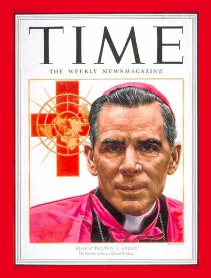 Time - Apr. 14, 1952 - Religion