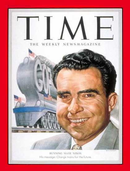 Time - Richard Nixon - Aug. 25, 1952 - Vice Presidents - Presidential Elections - Polit
