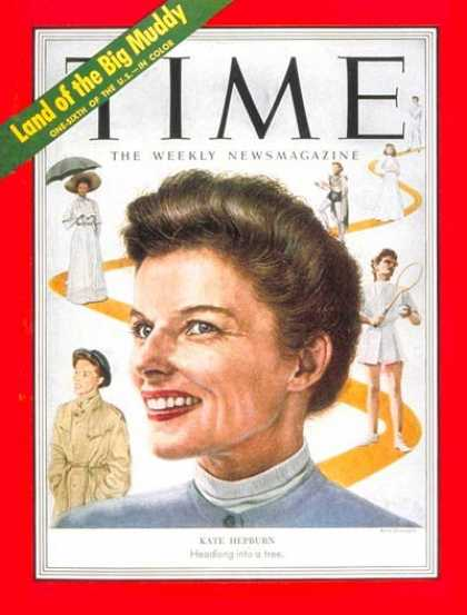 Time - Katharine Hepburn - Sep. 1, 1952 - Actresses - Movies